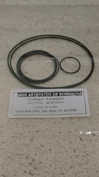 Kit Correias Som Aiwa 3 Cds Nsx 999 2200 9000 F7 Nv8080