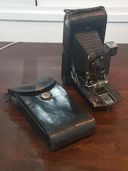 Camera Kodak 1913 3a Modelo C Mais De 100 Anos Ótimo Estado