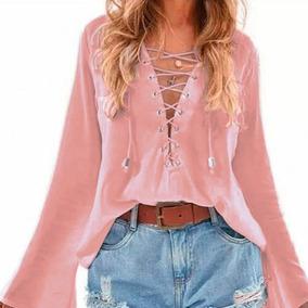 53f7851ec Blusa Morena Rosa - Calçados, Roupas e Bolsas no Mercado Livre Brasil