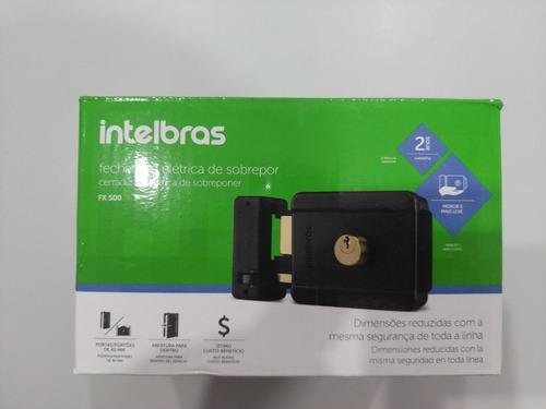 Fechadura Intelbras Fx 500 P/ Portão Interfone 12v C/3 Chave