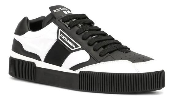 Tenis Dolce & Gabbana Miami Leather Sneakers Originales