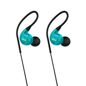 Fone De Ouvido Retorno Vokal E40 Azul Monitor In Ear