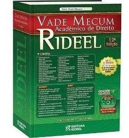 Livro Vade Mecum - Acadêmico De Direito - 12°edição Ano 2011
