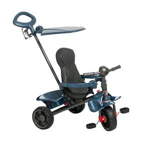Triciclo Smart Reclinável Azul Bandeirante