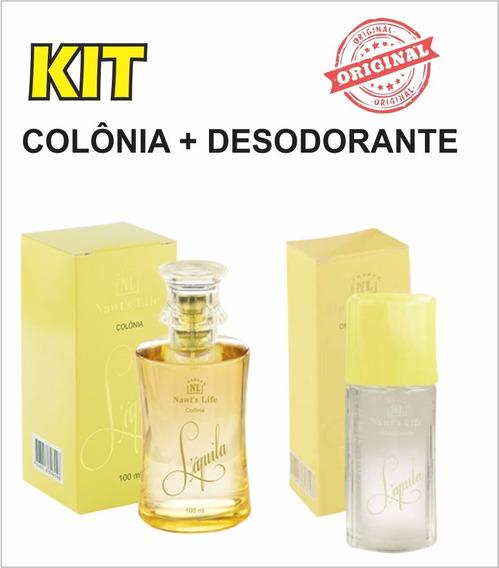 Kit Colônia Laquila + Desodorant Laquila(acompanha Brinde)