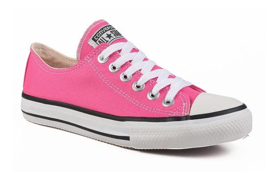 Tênis Converse All Star Cano Baixo Rosa Pink Infantil