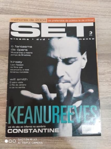 Revista Set 213 - Keanu Reeves - Luana Piovani