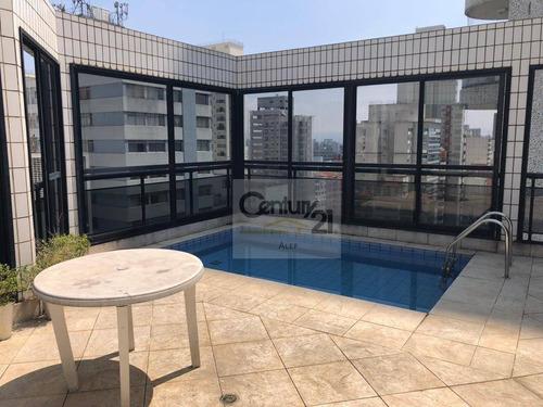 Cobertura, 250 M² - Venda Por R$ 3.000.000,00 Ou Aluguel Por R$ 10.000,00/mês - Higienópolis - São Paulo/sp - Co0990