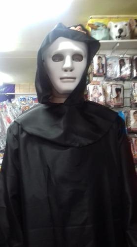Disfraz De Miedo Con Hacha Y Mascara Halloween Envio Gratis