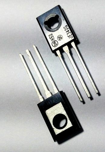 Imagem 1 de 3 de Par Transistor Npn Mje340 Mje350 Novo