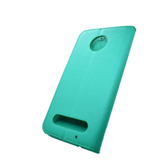 Funda Tipo Cartera De Lujo Premier Motorola Moto Z2 Play