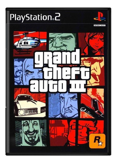 Grand Theft Auto Iii Gta 3 Ps2 Mídia Física Pronta Entrega