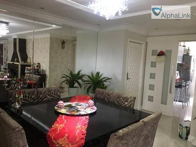 Apartamento Com 4 Dormitórios Para Alugar, 158 M² Por R$ 8.500/mês - Tamboré - Santana De Parnaíba/sp - Ap1382