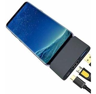 Samsung Dex Mode Dock Adaptador Mouse Teclado Hdmi Monitor