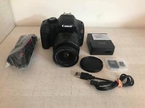 Câmera Canon Rebel T2i + Lente 18-55 12x S/ Juros 9mil Click