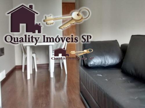 Apartamento Para Locação No Bairro Bosque Da Saúde Em São Paulo - Cod: Qy573 - Qy573