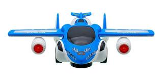 Avión Auto Transformer Sonido Luz Didactico Bebe Niño 119552