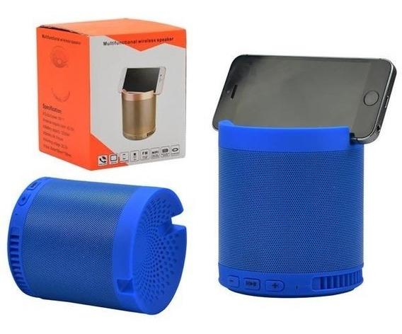Caixa De Som Bluetooth Com Suporte Para Celular 5w - Hf-q3