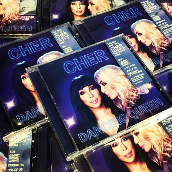 Cher Dancing Queen Cd Nuevo Abba En Stock