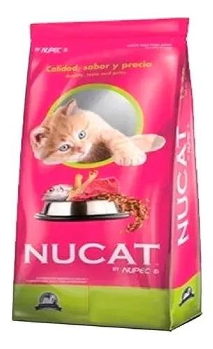 Imagen 1 de 1 de Alimento Nucat para gato adulto sabor mix en bolsa de 1.8kg