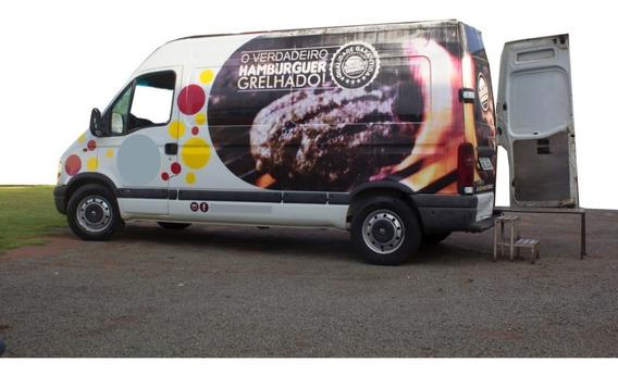 Food Truck Renault/master Furg 11m3 - 2004/2004 - Branca