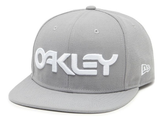 Gorra Oakley Mark Ii Novelty Back Stone Gray