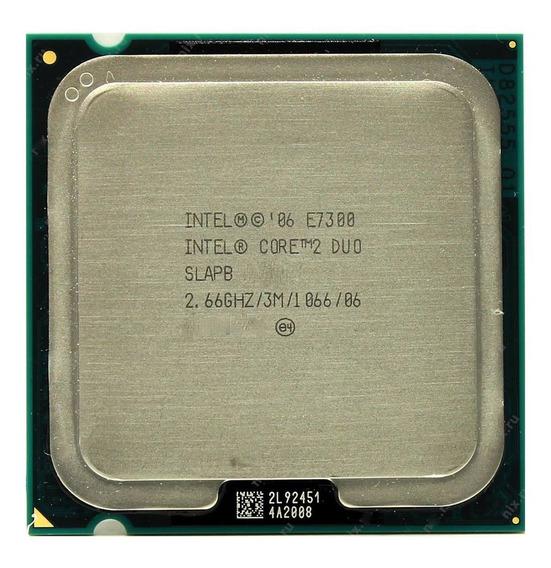 Lote De 6 Processador Intel Core 2 Duo E7300 2.66ghz 1066mhz