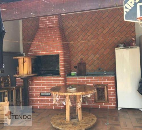 Sobrado Com 3 Dormitórios À Venda, 300 M² Por R$ 691.000 - Jardim Celani - Salto/sp - So0499