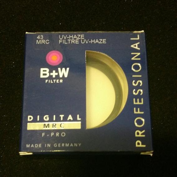 Filtro B+w Uv Haze 43mm Mrc F Pro