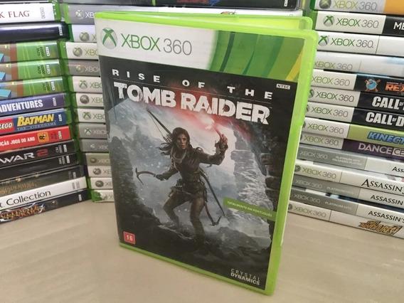 Rise Of The Tomb Raider Português - Xbox 360 - Original Dvd