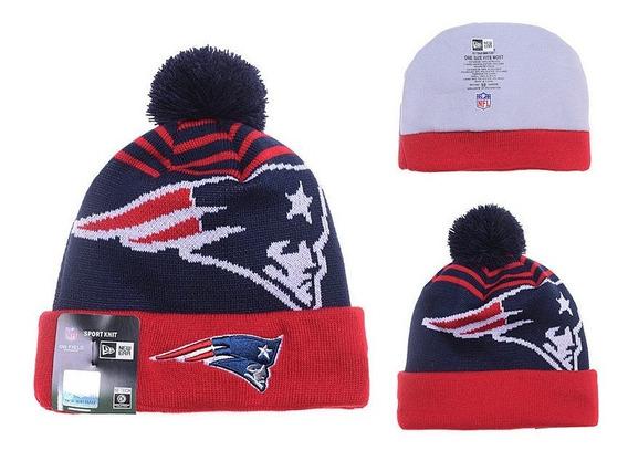 Touca Gorro Beanie New England Patriots Nfl - Tom Brady New Era Original - Importado