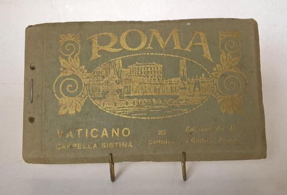 Album Tarjetas Postales Antiguas Vaticano Década
