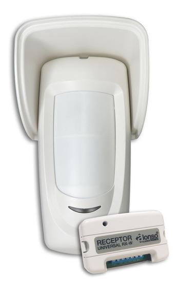Sensor De Movimiento Exterior Inalambrico Universal Alonso