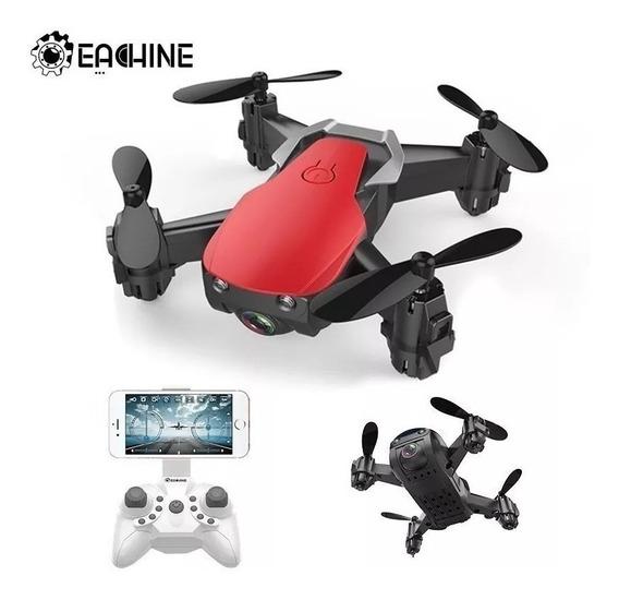 Mini Drone Eachine E61hw Camera Fpv 3 Baterias