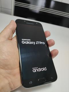 Celular Samsung J7 Pro 16gb + Sd 32gb