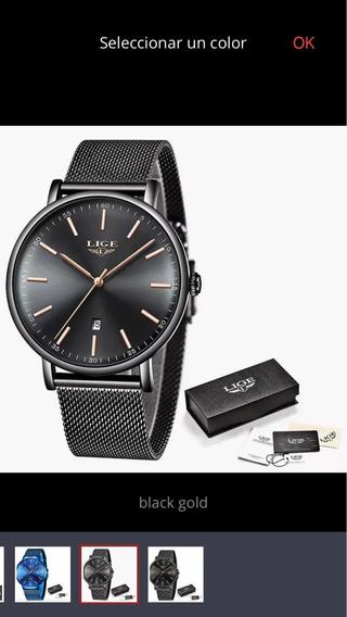 Reloj Marca Lige Elegante