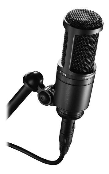 Microfone Audio Technica At2020 Novo Na Caixa, Promoção! P+e