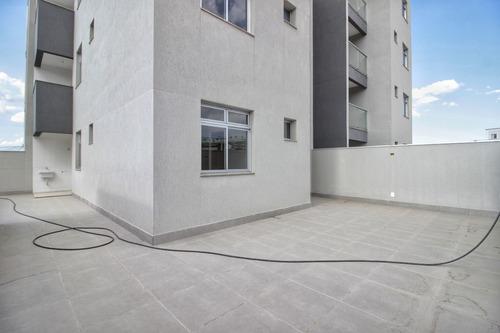 Imagem 1 de 20 de Apartamento 02 Quartos, Área Privativa Em Contagem - 20794