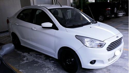 Ford Ka Se Sedan 1.0 Flex 2018 Branco - Ótimo Estado
