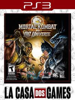 Mortal Kombat Vs. Dc Universe - Psn Ps3 - Envio Imediato