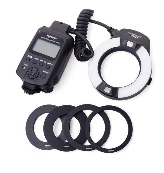 Flash Yongnuo Yn 14ex Para Canon E-ttl - Ring Macro Circular