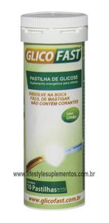 Pastilha De Glicose Glicofast 10 Pastilhas - Naturalis