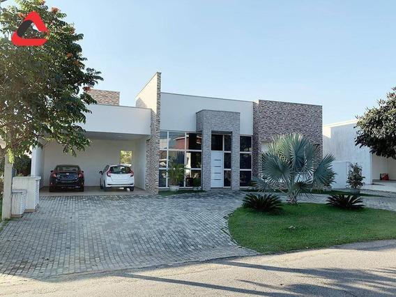 Maravilhosa Casa Térrea Em Condomínio Fechado - Sorocaba/sp - Ca1452. - Ca1452