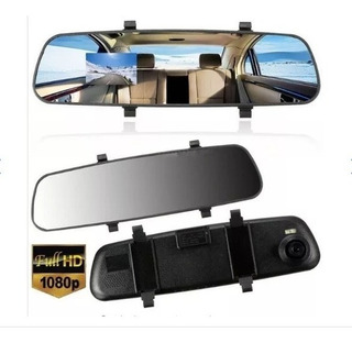 Camara Dash Cam Para Autos Espejo Retrovisor