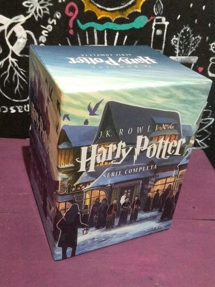 Box Livros - Harry Potter - J.k. Rowling - 7 Volumes (usado)