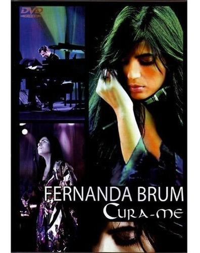 Dvd Fernanda Brum Cura-me Mk Music