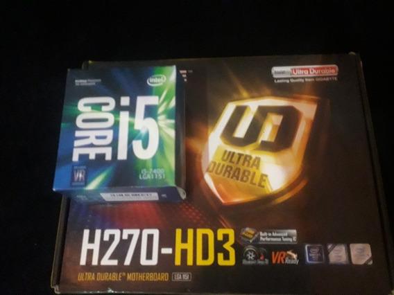Kit I5 7400 + Placa Mãe