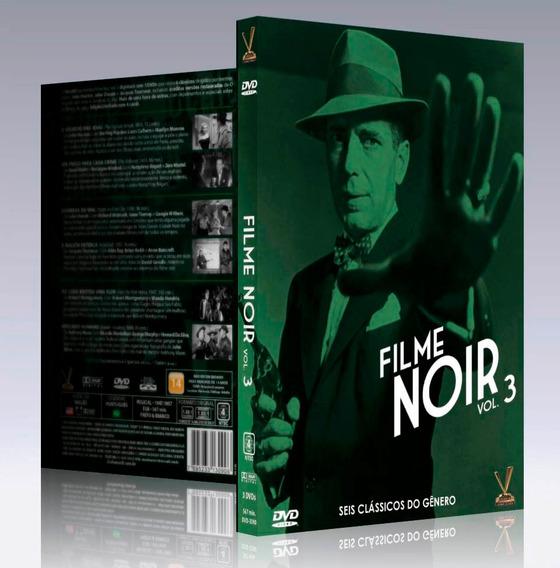 Dvd Coleção Filme Noir Vol. 3 - (3 Dvds = 6 Filmes) Lacrado