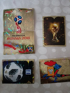 Estampa Emblema Panini Mundial Rusia 2018