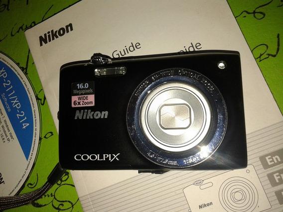 Nikon S2700 Poco Uso Sd 16 Gb En Caja.